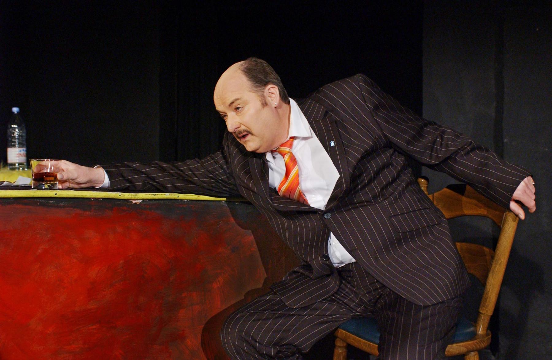 """""""Bagger"""" von Henning Mankell mit Markus Dentler - Theater Die Komödianten Kiel"""
