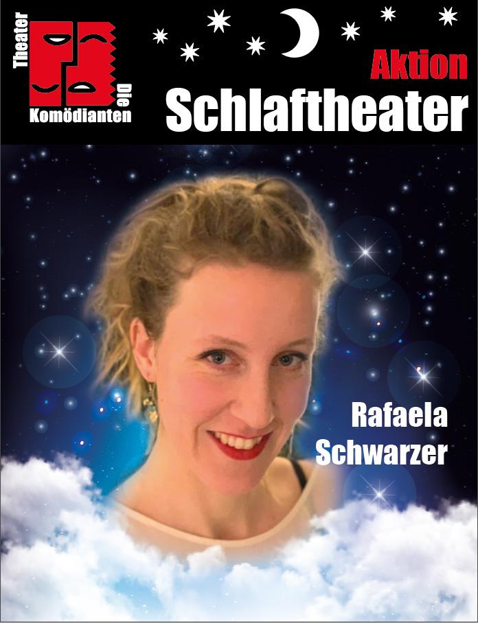 """Aktion """"Schlaftheater"""" - Rafaela Schwarzer- Theater Die Komödianten Kiel"""